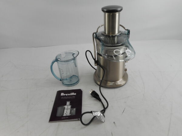 Breville 800JEXL Juice Fountain Elite Centrifugal Juicer Brushed Stainless Steel