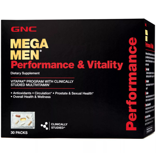 GNC Mega Men Performance amp; Vitality Vitapak