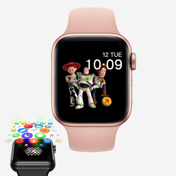 Smart Watch for iPhone iOS Android Phone Bluetooth Waterproof Fitness Tracker $25.99