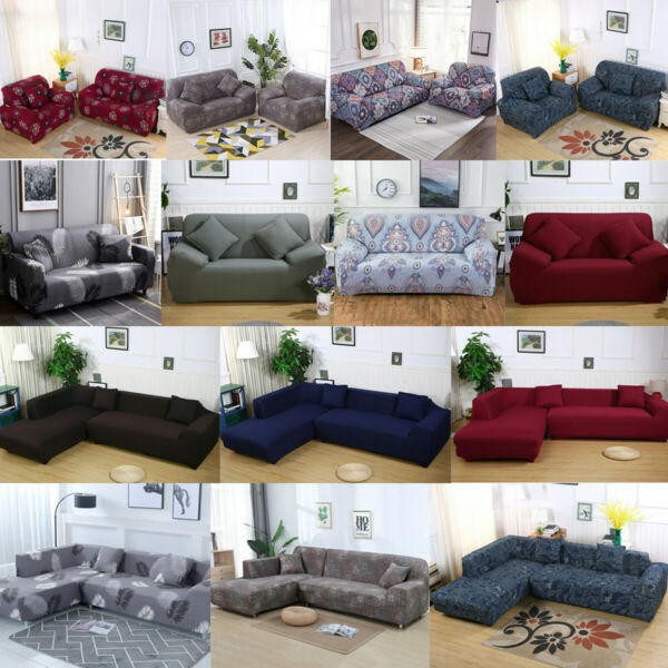 Universal Chair Sofa Covers Stretch Couch Cover Furniture Protector Slipcover $18.99