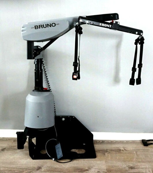Bruno Curb Sider VSL 672 Wheelchair Power Chair Lift with Remote