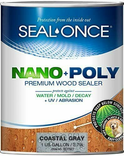 Seal Once Exotic Premium Wood Sealer 7414 Clear 1 Gallon $67.99