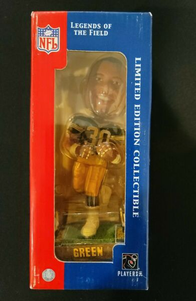 AHMAN GREEN PACKERS FOREVER COLLECTIBLES LEGENDS OF THE FIELD BOBBLEHEAD NIB