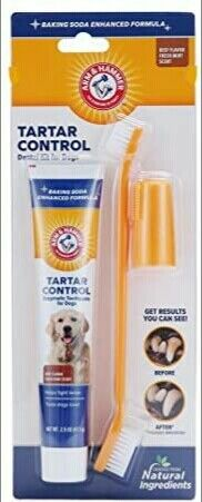 Arm amp; Hammer for Pets Dog Dental Care Fresh Breath Kit for Dogs FREE SHIPPING $10.99