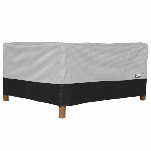 Outdoor Patio Square Ottoman Side Table Furniture Cover 32quot;L x 32quot;W x 18quot;H $19.99