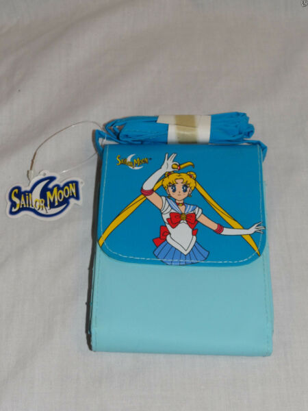 NEW WITH TAGS 1999 SAILOR MOON BLUE WALLET