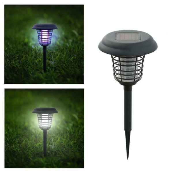 Solar Powered Lights Outdoor Outside Garden Decor Led Decorative Lamp Led Uv