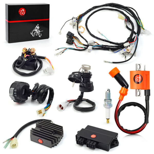 Ignition Coil Switch CDI Relay amp; Wire Harness For Yamaha Warrior 350 1997 2001 $179.99