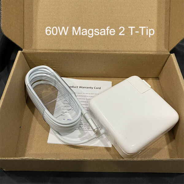 60W MagSafe 2 Power Adapter Charger For MacBook Pro 13quot; A1435 A1425 A1502 T Tip