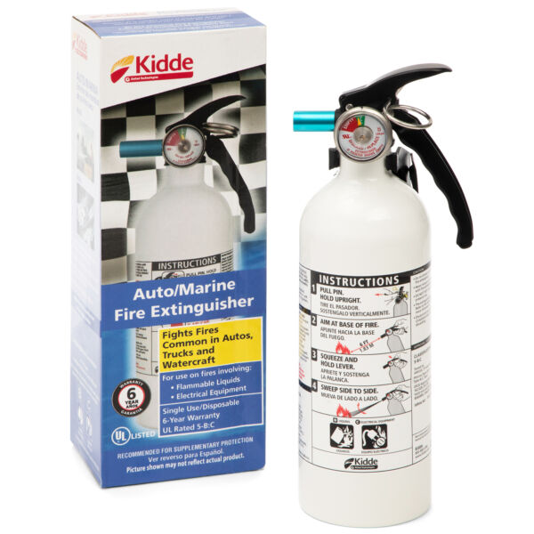 Kidde Marine Fire Extinguisher 5 B:C 3 lb Car Boat Home Office Not ship to MI