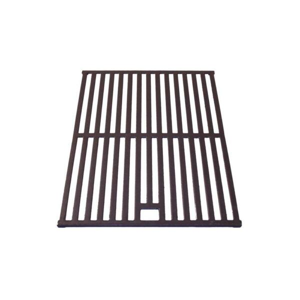 17.17 in. x 11.18 in. Cast Iron Cooking Grid w Hole Replacement Grate Durable