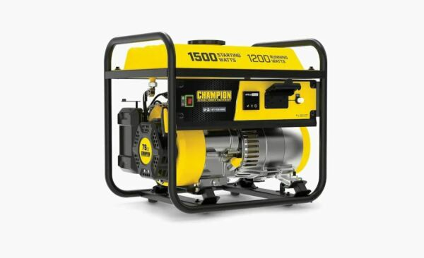 Champion Power Equipment Champion 1200 Watt Portable Generator Model 200915