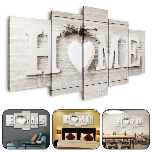 5Pcs Unframed Modern Wall Art Painting Print Canvas Picture Home Room Decor Gift $12.68