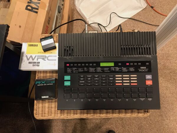 Yamaha RX 5 drum machine with WRC04 Sound card Orig manual and store brochure. $1000.00