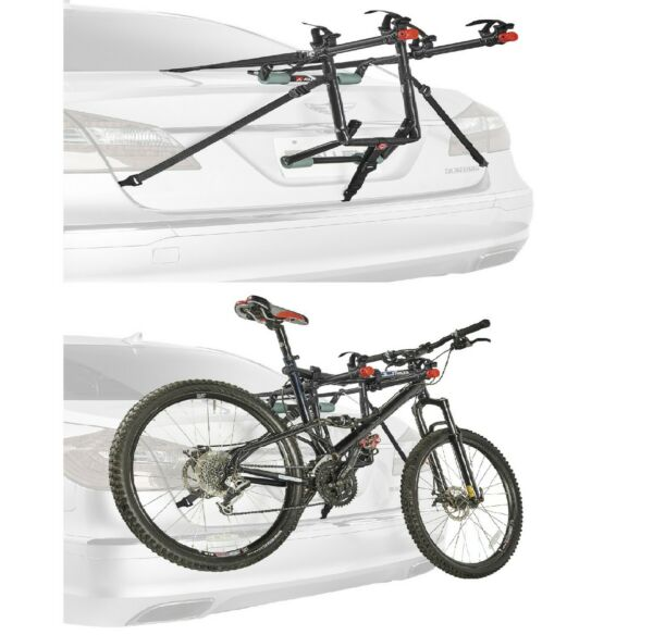 Bike Trunk Mounted Carrier Deluxe Rack Sports Allen 2 Bicycle 102ND R Model New $39.99