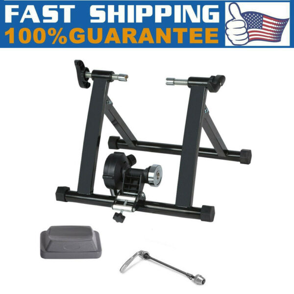 Bike Trainer Stand Magnetic Bicycle Stationary Stand For Indoor Cycling Exercise $66.79