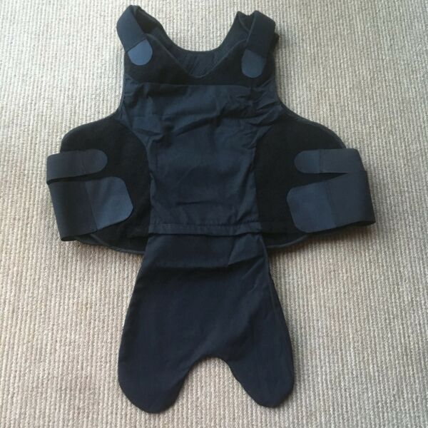 Concealable Vest Armor carrier 2XL Female Black Made In USA $28.00