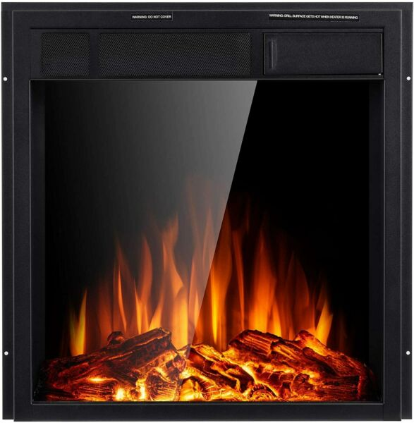 Electric Fireplace Insert 22.5quot; Freestanding Heater