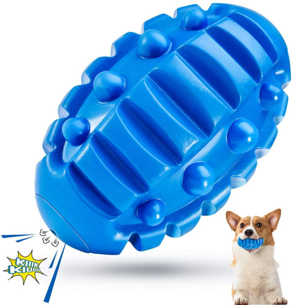 Dog Chew Toys for Aggressive ChewersIndestructible Dog Toys Squeaky Tough Fetch $11.39