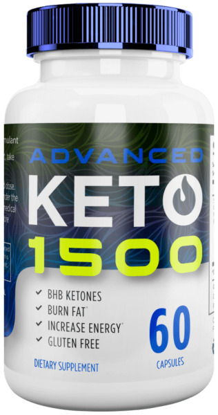 KETO Advanced 1500 supported burning fat for energy instead of carbohydrates $27.99