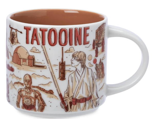 Disney Star Wars May The 4th 2021 Starbucks Mugs Been There TATOOINE new