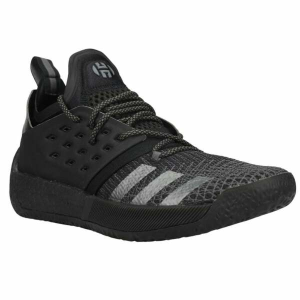 adidas Harden Vol. 2 Mens Basketball Sneakers Shoes Casual Black Size 13