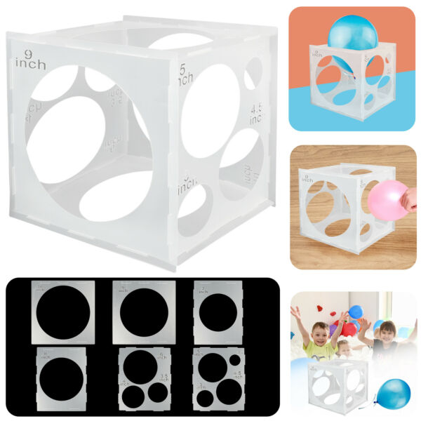 11 Holes Balloon Sizer Box Balloons Measuring Measurement Tool for Wedding Party