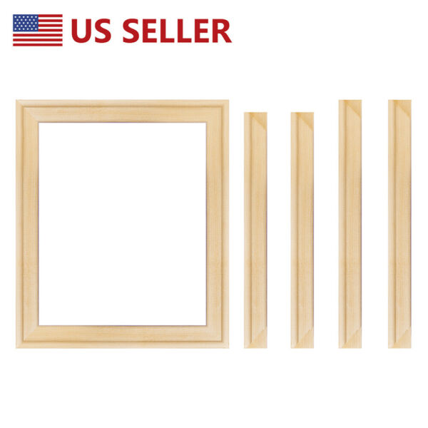 16x20quot; Canvas Stretcher Bars Frames Kits Wooden for Wall Art Photo Oil Paintings
