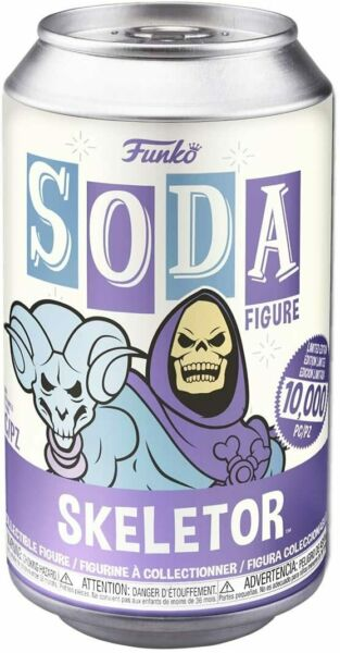 Skeletor Funko Soda Limited Edition Chance Of Chase Factory Sealed He man