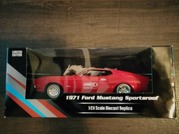 1971 Ford Mustang Sportsroof 1:24 Scale Diecast Replica LENNOX LIMITED EDITION $35.00