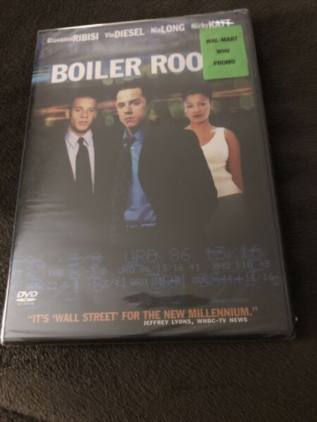 Boiler Room DVD 2000 Brand New $5.99