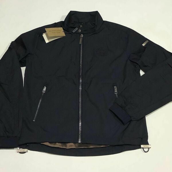 Burberry Jacket Light Blue M size Discounted Authentic Worldwide shipping $220.00