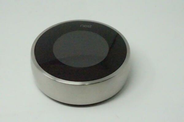 Nest Learning Thermostat 2nd Generation 02A Silver Used Working Condition B0902 $72.15