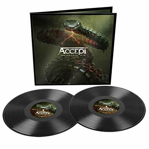 Accept Too Mean To Die Black In Gatefold CD NEW