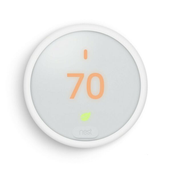 Nest Thermostat E T4000ES Programmable White Thermostat Very Good Used G170 $75.95
