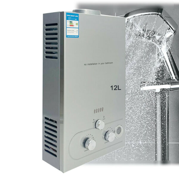 12L LPG Propane Gas Instant Hot Water Heater 3.2GPM Tankless Water Boiler $116.05