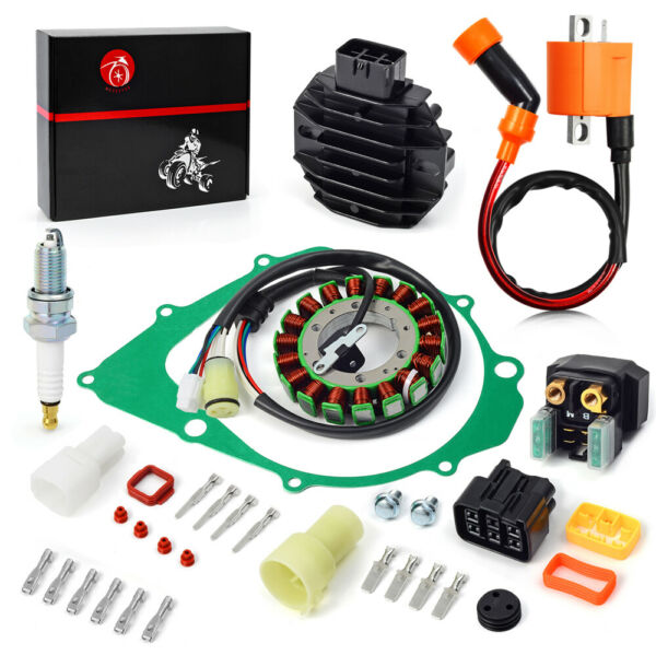Ignition Coil Relay Rectifier amp; Stator For Yamaha YFM350 Raptor 350 2004 2013 $74.36