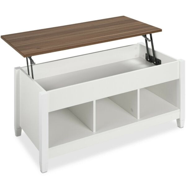 Lift Top Coffee Table Multifunctional Accent Furniture w Hidden Storage