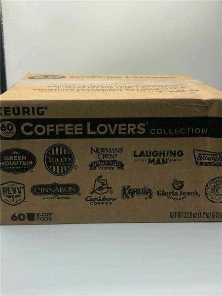 Keurig Coffee Lovers Collection Variety 60 K Cups