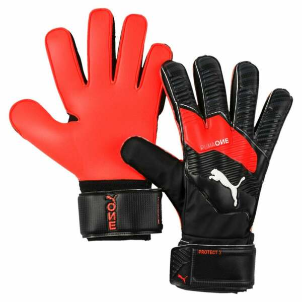 Puma One Protect 3 Goalkeeper Gloves Mens Soccer Cleats