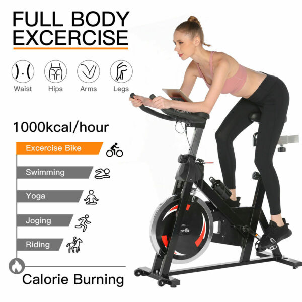 Exercise Bicycle Cycling Fitness Stationary Bike Cardio Home Indoor Sports 2IN1. $315.99