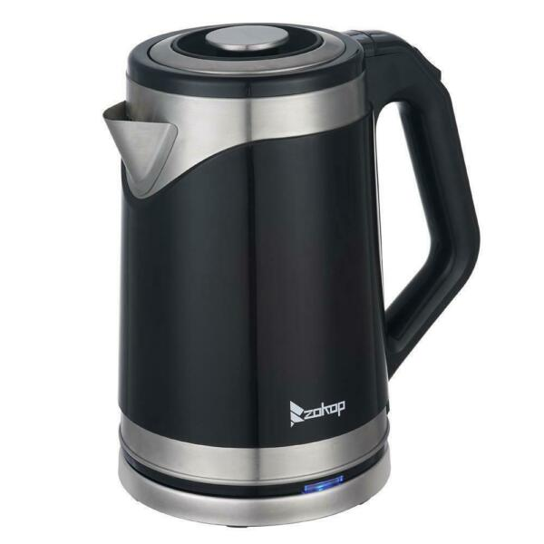 Durable 1500W 1.8L Electric Auto Tea Kettles Hot Water Boiler Coffee Black 2020 $20.65