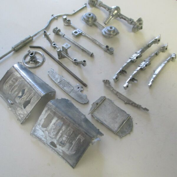 HUBLEY NEW CHEVY PARTS ST. SHAFT WHEEL HOOD FRONT amp;REAR SPRINGS MISC PARTS $15.95