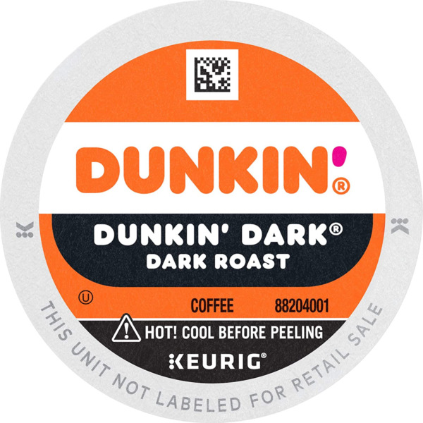 Dunkin#x27; Coffee K Cups For Keurig Coffee Makers