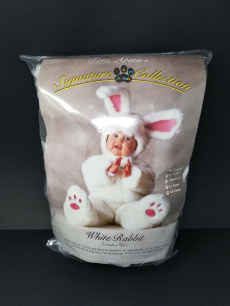 Tom Arma Signature Collection White Rabbit Bunny Baby Costume 6 12 Months 2006