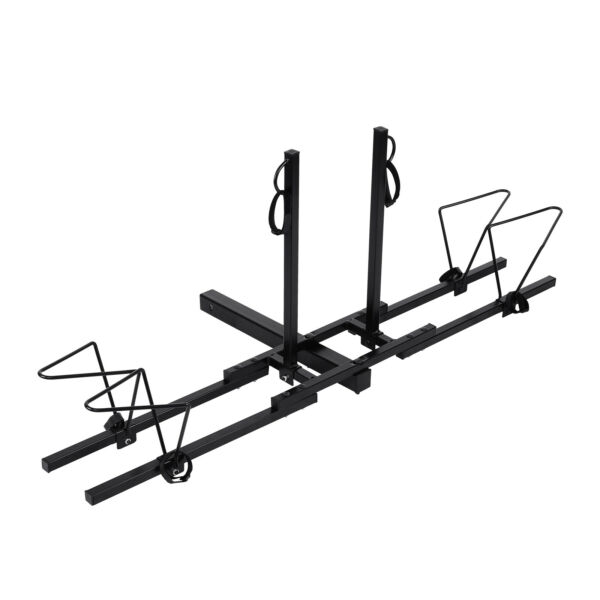 2 Bike Bicycle Carrier Rack Hitch Receiver 2quot; Heavy Duty Mount Rack Truck SUV $50.99