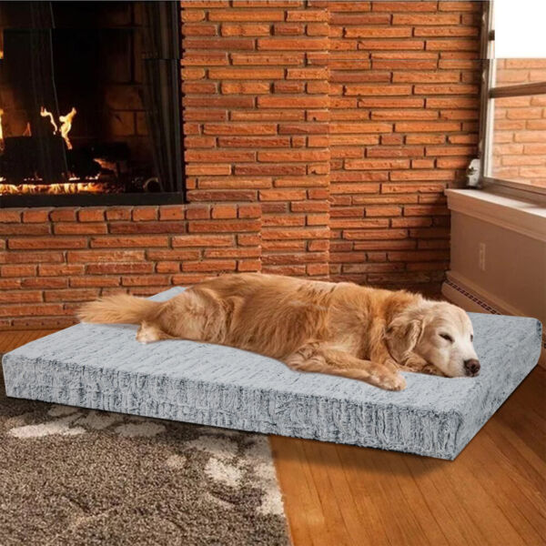 Oversize Orthopedic Dog Beds Memory Foam for Large Dogs Mattress Joint Relief $37.96