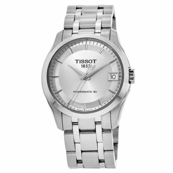 New Tissot Couturier Automatic Silver Dial Women#x27;s Watch T035.207.11.031.00 $227.00
