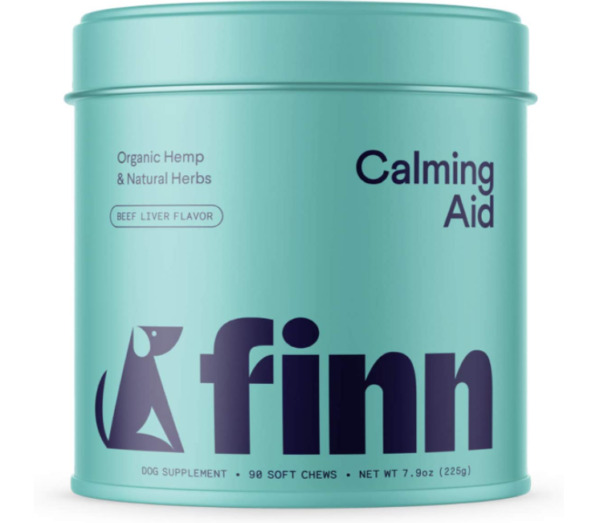 Finn Calming Aid Calming Treats for Dogs Natural Dog Calming Chews with Mel... $19.99