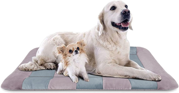 Dog Beds for Large Dogs Crate Pad Mat 47quot; Dog Cat Pet Bed Sleeping Mats Washable $38.92
